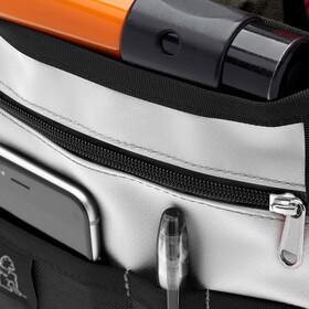 Chrome Mini Metro Messenger Bag, black/white
